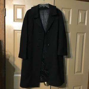 Jackets & Blazers - Vintage Black Wool Coat